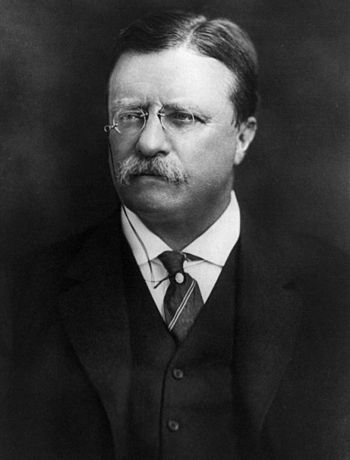 English: Theodore Roosevelt.