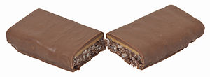 Whatchamacallit (candy) - The Thingamajig, a rice crisp and peanut butter candy bar that is similar to the Whatchamacallit