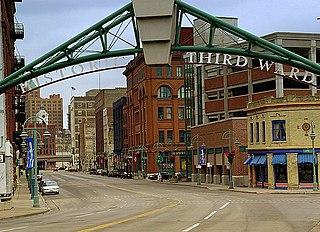 Historic Third Ward, Milwaukee human settlement in Milwaukee, Wisconsin, United States of America