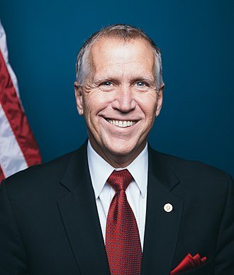 United States congressional delegations from North Carolina - Senator Thom Tillis (R)