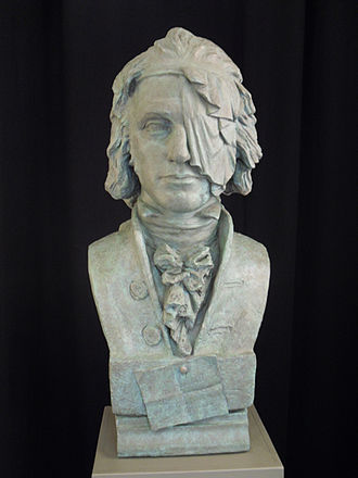 Thomas Muir of Huntershill - Thomas Muir (bust by Alexander Stoddart)