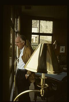 Thomas Bernhard i Sintra, Portugal, 1987.