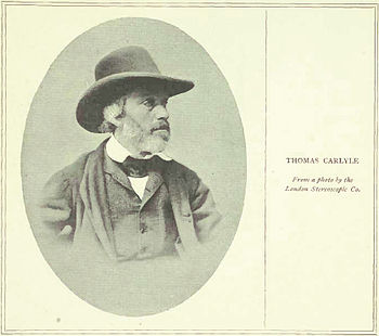 English: Thomas Carlyle - From a photo by the ...