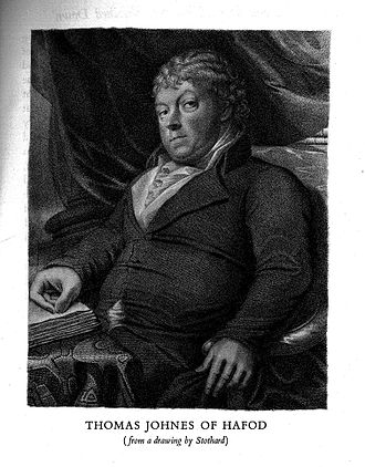 Thomas Johnes - Portrait by Stothard