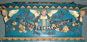 Thomas à Kempis - The reliquary with the relics of Thomas à Kempis