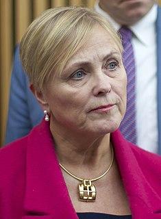 Thorhild Widvey Norwegian politician