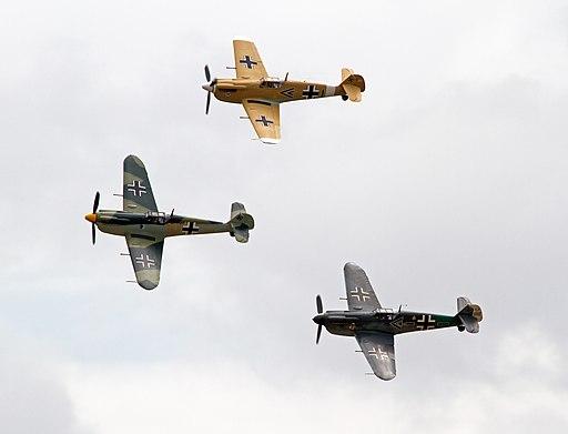 Three CASA HA-112-M1L Buchóns (5926427425)