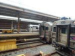 Three trains at Atlantic City Rail Terminal, May 2015.jpg