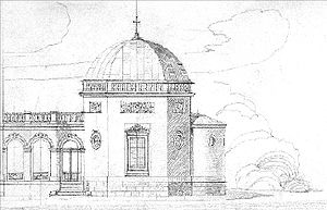 Tiškevičiai Palace, Palanga - The design of the palace's chapel