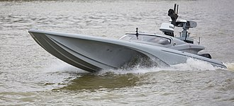 Unmanned surface vehicle - Image: Tidal Thames Trials For Defence's New Maritime Testbed Mon 5 Sep 2016 MOD 45161908