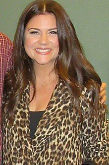 Tiffani Thiessen bathing suit