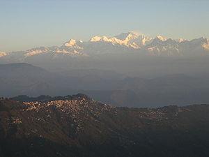 Mount Kanchenjunga,3° eight-thousander in heig...