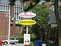 Tim Hortons sign in Stratford, Ontario.jpg
