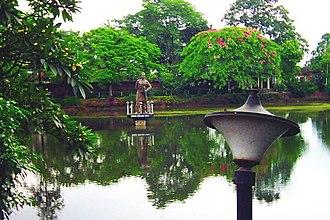 Tinsukia - A view of the Tinikunia Pukhuri