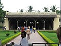 Tipu Sultans summer palace bangalore frontview.jpg