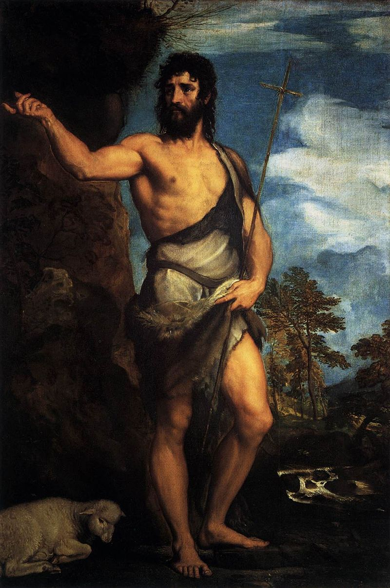 Titian - St John the Baptist in the Desert - WGA22807.jpg