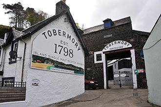 Tobermory distillery - Image: Tobermory Distillery, Isle of Mull