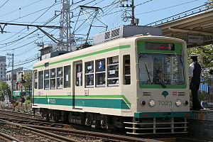 Toei 7000 series - 7000 series car 7023 in June 2009
