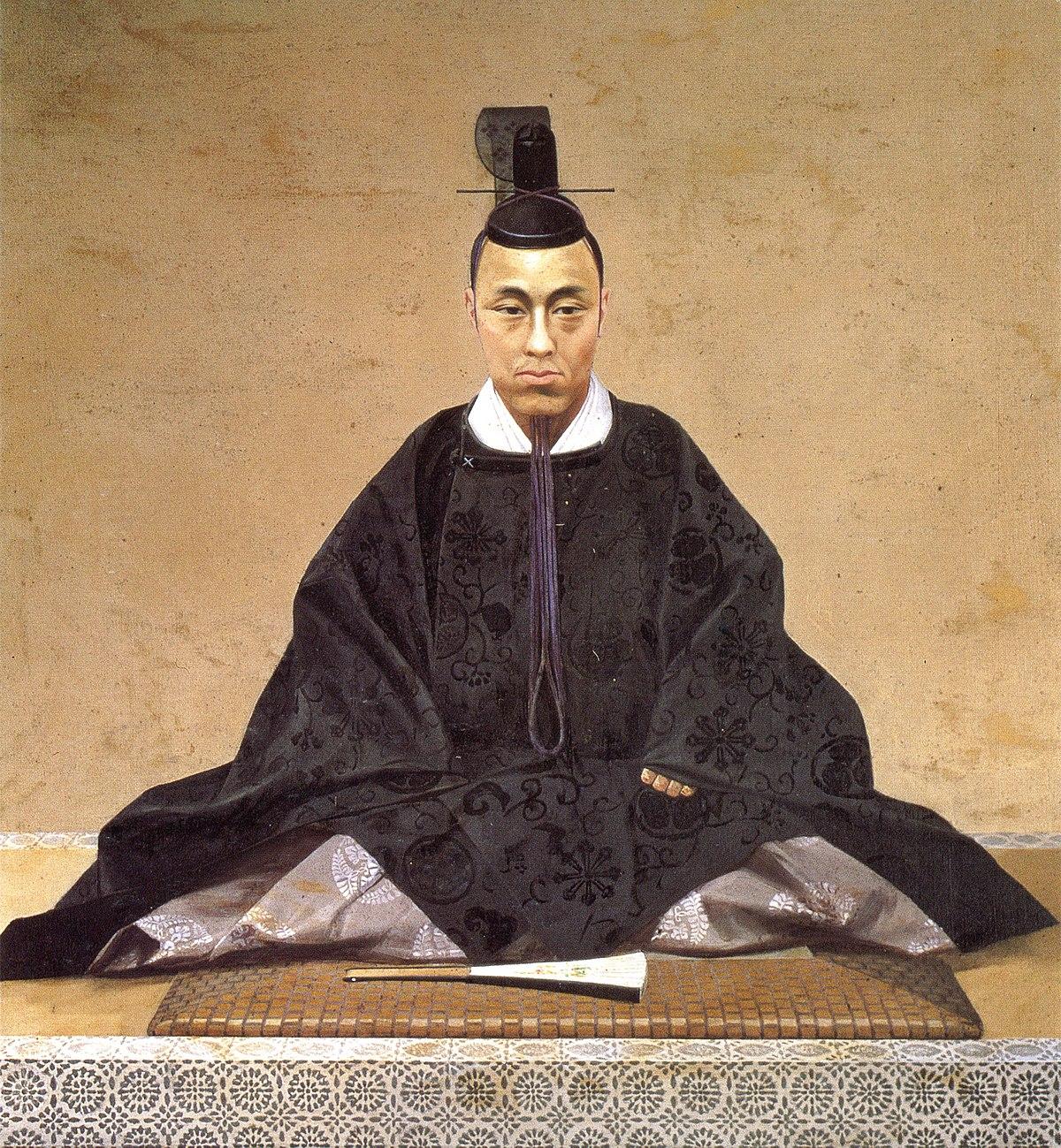 Tokugawa Yoshinobu by oil painting.jpg