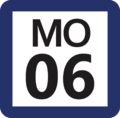 Tokyo Monorail MO-06 station number.png