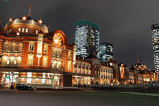 railway station and metro station in Chiyoda, Tokyo, Japan