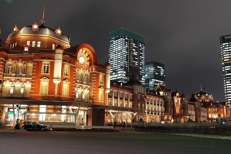 File:Tokyo station from marunouchi oazo.JPG