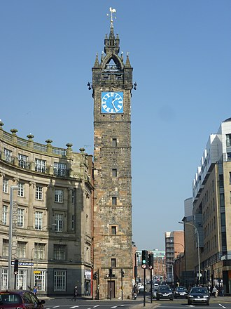 Glasgow Cross - Tolbooth Steeple at Glasgow Cross