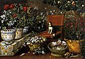 Tomás Hiepes - Garden View with a Dog - WGA11415.jpg