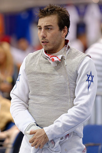 Tomer Or - Or at the 2013 World Fencing Championships