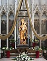 Tongeren Onze-Lieve-Vrouwebasiliek altar of Our Lady Cause of our Joy.jpg