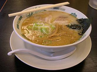 Ramen - Ramen of tonkotsu soup