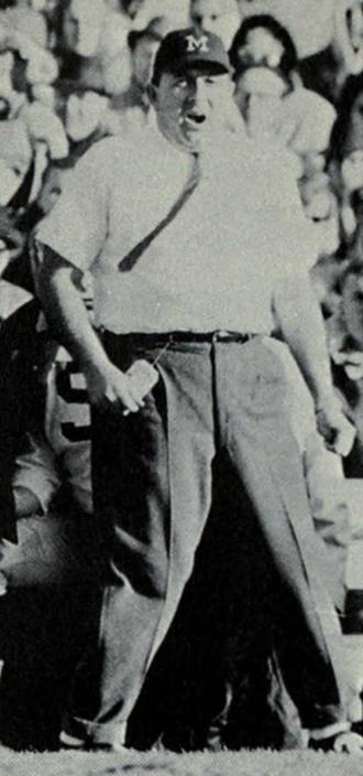 Tony Mason (American football) - Mason from the 1965 Michiganensian