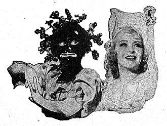 Duncan Sisters - The Duncan Sisters as Topsy and Eva, circa 1945