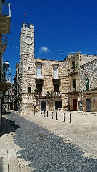 Ruvo di Puglia - The Clock Tower, in the Historic Center
