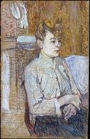 Toulouse-Lautrec - Woman Smoking a Cigarette, 1890.jpg