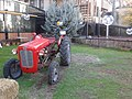 Tractor at the restaurant garden.jpg