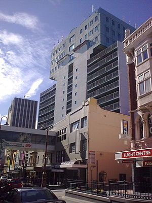 Trafalgar Building, Hobart - Trafalgar Building from Collins Street