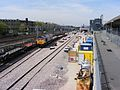 Train carrying track for Crossrail London 02.JPG
