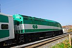 Trainspotting GO train -921 banked by MPI MP40PH-3C -613 (8123476922).jpg