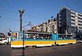 Tram in Sofia near Sofia statue 2012 PD 060.jpg