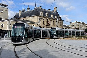 Tramway De Caen Wikimonde