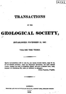 Transactions of the Geological Society, 1st series, vol. 3.djvu