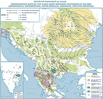 Romanians - Romanian and Vlach transhumance in Eastern and Southeastern Europe