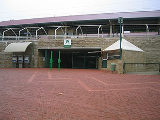 Perth Royal Show - Showgrounds railway station, a common entry point to the Royal Show