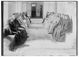 Trappists - Monks of the Abbey of Our Lady of Gethsemani in the early 20th century.