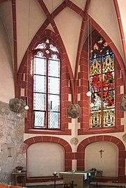 Treis, ehem. Pfarrkirche - Chor innen (2020-09-15 Sp).jpg