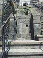 Treppe zum normannischen Keep in Cardiff Castle.jpg