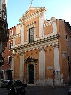 Santa Rita da Cascia alle Vergini church building in Rome, Italy