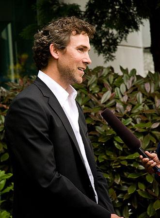 Trevor Linden - Linden being interviewed in Vancouver