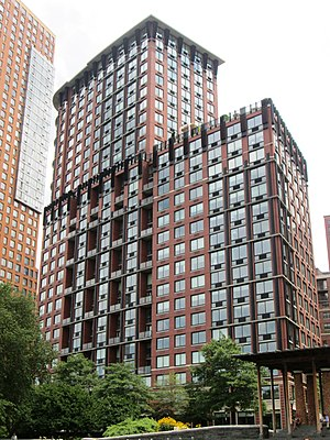 Robert A.M. Stern Architects - Image: Tribeca Park 400 Chambers Street Battery Park City